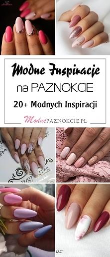Modne Inspiracje na Manicure: 20+ Pięknych Stylizacji, Którym Trudno się Oprzeć!