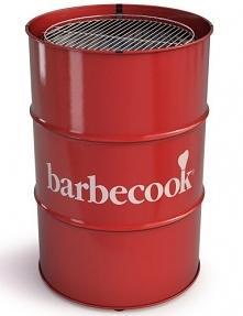 """Grill węglowy Edosn """"beczka"""" Barbecook - nietuzinkowy grill do ogrodu."""