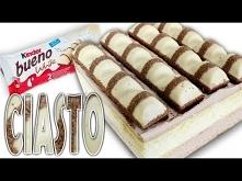 Ciasto KINDER BUENO WHITE -...