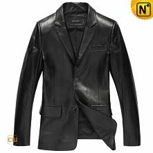 CWMALLS® Mens Black Leather Jacket CW840802 | Do you need a quality blazer ja...