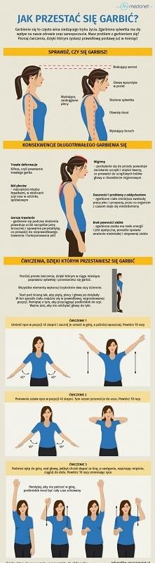 Jak przestać się garbić