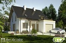 Projekt gotowy Drop to propozycja skromnego i sympatycznego domu jednorodzinn...