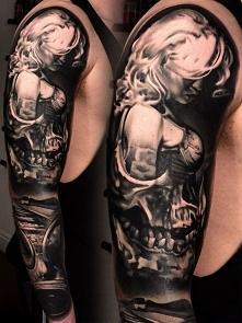 czaszki tatuaże