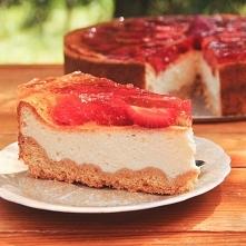 Sernik  z jogurtów greckich  Temperatura pieczenia: 170ºC   Czas pieczenia: 1 h 20 min Print Friendly and PDF  Ciasto kruche     1,5 szkl. mąki     150 g zimnego masła     1 łyż...