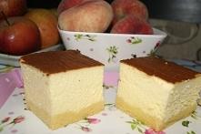 Sernik puszysty Składniki spód mąka pszenna, 2 szkl masło, 100g cukier, 4 łyż...