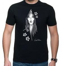 Kwiaty - t-shirt - różne kolory