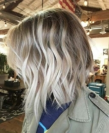 Chłodny blond sombre..jak kto lubi:)