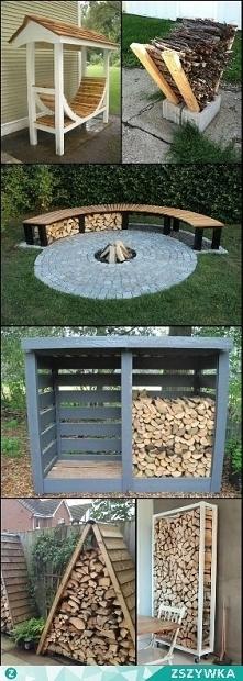 palenisko i miejsce na drewno