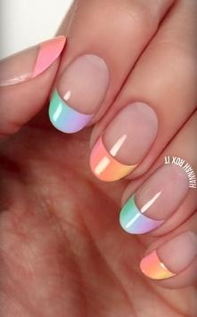 Kolorowe ombre