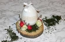Pomysł na świąteczny stroik z kwiatami już na blogu! :)
