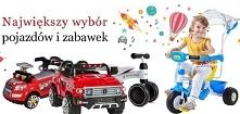 Sklep z zabawkami i pojazdami dla dzieci