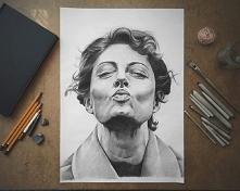 Mój najnowszy portret Susan Sarandon :) FB: Ren Skonhet :)