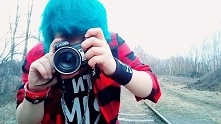 Kto z was miał niebieskie włosy?
