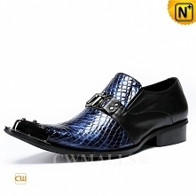 CWMALLS® Brussels Embossed Leather Dress Loafers CW708203[Personalized Gifts]