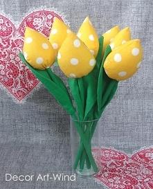 żółte tulipany ;)1szt. 4,50zł