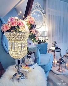 Lampiony fotel wnętrza dodatki wiosna