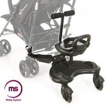 Dostawka do wózka z siedzonkiem. Idealna przy dwójce maluchów