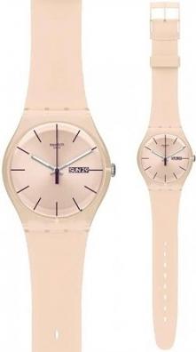 Zegarek idealny na wiosnę marki Swatch! Doskonały do zwiewnych i równie delikatnych stylizacji!