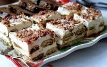 Ciasto serowo-kawowe bez pieczenia