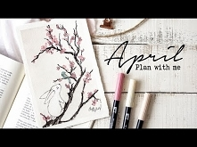 Plan with me | April 2018 B...
