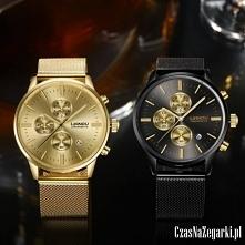 Nietuzinkowy Zegarek LIANDU Chronometer MECHANIZM: Kwarcowy FUNKCJE: multi da...