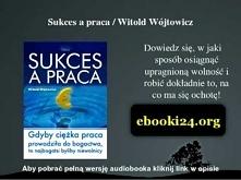 Sukces a praca - Witold Wójtowicz