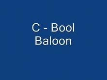 C - Bool Baloon