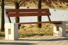 Stylowa ławka