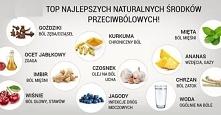 naturalne środki przeciwbólowe :) Po więcej ciekawostek zapraszam na moją str...