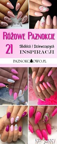 Różowe Paznokcie: TOP 21 Inspiracji na Dziewczęcy i Słodki Manicure