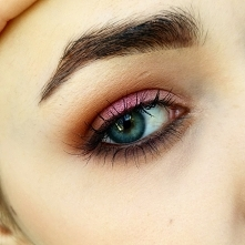 makijaż oka paletką Zoeva Cocoa Blend ;)