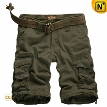 CWMALLS® Omaha Utility Olive Green Cargo Shorts CW140063[Cargo Pants, Fishing...