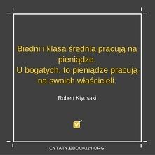 Robert Kiyosaki cytat o pie...