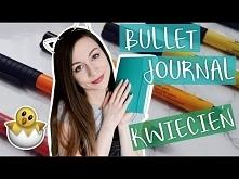 Zaplanuj ze mną KWIECIEŃ - Bullet Journal 2018