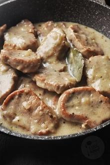 Polędwiczki wieprzowe w sos...