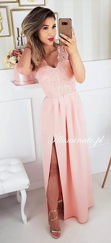 Długa sukienka z kolekcji Illuminate. Idealna dla druhny <3