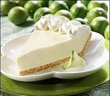 Key Lime Pie (ciasto limonkowe z Florydy)   rozpuścić 80gr masła, skruszyć 25...