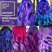 ultra violet hair mix