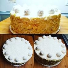 Tort rafaello  Zapraszam na mój instagram podam przepis  samaa_slodycz_