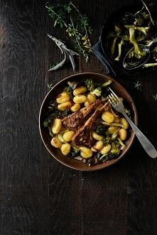 Gnocchi z pieczonym brokułe...