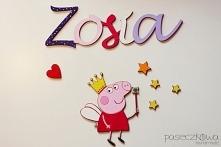 IMIĘ i dekory z bajek do przyklejenia na ścianę w pokoju Dziecka  Zapraszam na moją stronę na facebooku: paseczkowa handmade