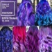 ultra violet hair mix