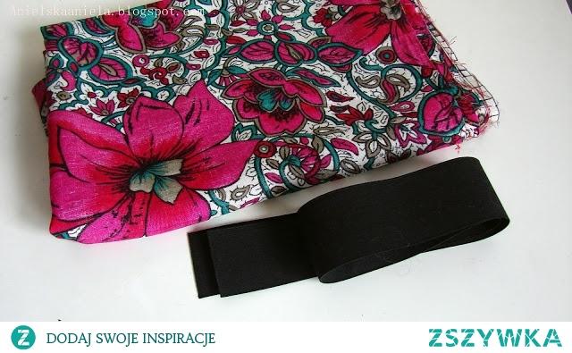 spódniczka na gumie DIY