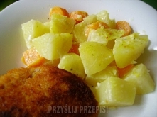 Ziemniaki po Żydowsku      5 porcje Łatwy   Składniki - ziemniaki: 1 kilogram...