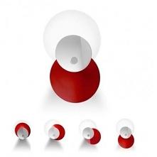 Kolorowy kinkiet Hula Hop stanie się niepowtarzalną ozdobą do pokoju młodzieżowego lub dziecinnego.    Lampa dostępna w dwóch wariantach kolorystycznych:  90213 - niebieski, chr...