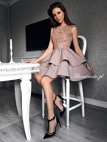 Cudowna sukienka latte z kolekcji Illuminate <3
