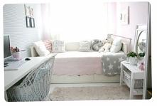 Pastelowy pokój dla nastolatki