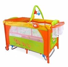 Promocja!!!!!! Łóżeczko Mirage Delux Hippo jet to łóżeczko firmy Milly Mally które przyniecie radość każdemu dziecku  Łóżeczko dwupoziomowe, posiada solidną konstrukcję. 2 boki ...