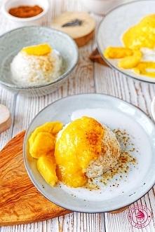 Kokosowy ryż z mango - Wypieki Beaty