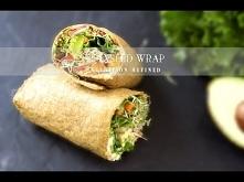 Flaxseed Wraps | Vegan, Paleo dietetyczna kolacja - siemieniowe wrapy (tylko siemię+woda)